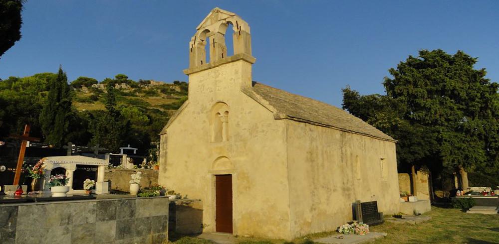 Biograd Vrgada Crkva Svetog Andrije