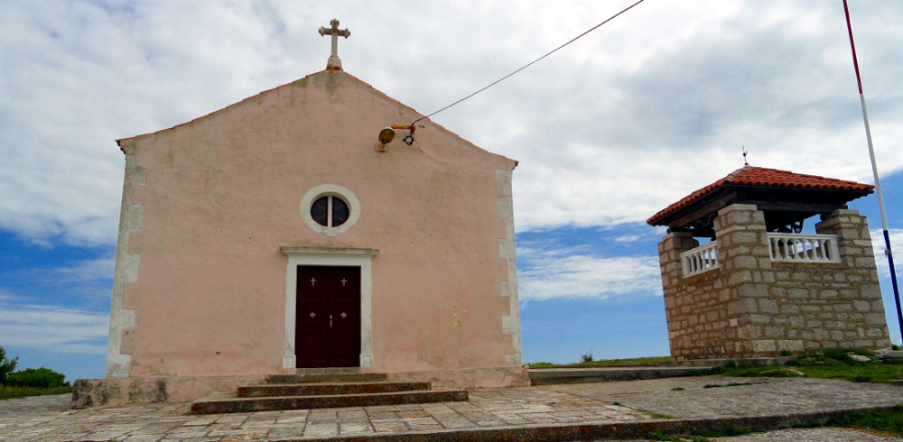 Biograd Vrgada Crkva Presvetog Trojstva