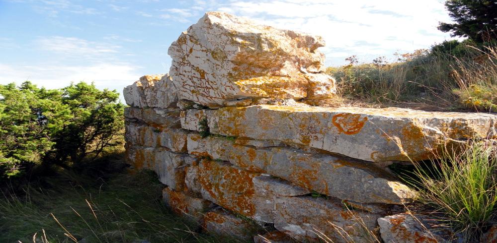 Biograd Vrgada ostatci bizantske utvrde